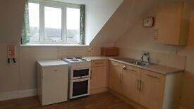 Heneage Road Grimsby Furnished Studio flat with Bath + Shower and on site Laundry Facilities