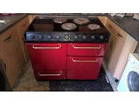 RANGE COOKER IN RED