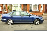 VOLVO S40 BLUE 2.0L PETROL MANUAL MOT TIL AUG 2017