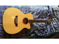 Crafter TRV23 Acoustic Travel Guitar with Solid Spruce Top