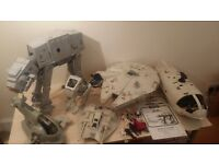 Vintage Star Wars Joblot of Vehicles,Figures and Instruction sheets