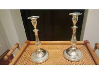 Candlesticks set-The pair. Excellent quality-Will consider reasonable offers