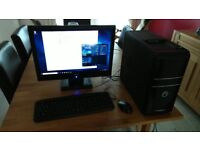 "Novatech Desktop PC Intel Core i3-2100 CPU @3.10GHz, 4GB RAM with Windows 10 Pro and 22"" Monitor"