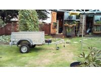 Trailer 4'x 3' approx