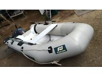 Yamaha outboard and 2.4 meter dinghy, perfect condition