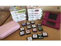 Nintendo Dsi pink 14 games