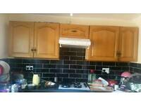 COOKER AND OVEN IN WHITE COLOUR 60CM FOR SALE