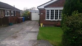 3 Bedroom detached bungalow with garage & parking