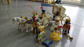 Playmobil 4258 Royal Carriage. VGC. From a smoke free and pet free home.