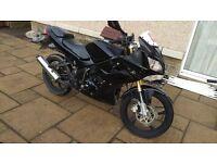 Lexmoto xtrs 125 125cc motorbike