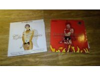 2 x fantazia house collections club classics vol 1 / 2 - vinyl LP's brandon block luv dup cosford