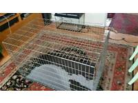 large dog cage and is very haevy
