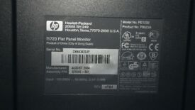 HP PAVILLION 1723 17inch FLAT PANEL MONITOR