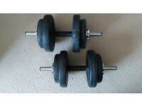 SET OF 2 DUMBBELLS