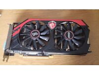 EXCELLENT 1440P Capable MSI GTX 760 Twin Frozr Edition Graphics Card BOXED,RRP £200+, £120 NO OFFERS