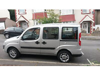2009 Fiat Doblo dynamic 1.4 silver Wheelchair accessible vehicle adapted WAV