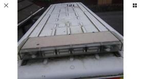 LED hazard light bar
