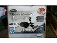 Ross HD Portable Satelite Kit & Sky TV Box