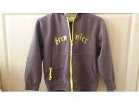 Brownie hoodie 34 ins
