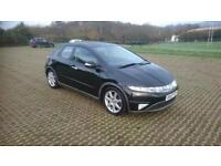 HONDA CIVIC 2.2 i-CTDi Sport 5dr (black) 2008