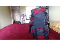 North Ridge Centaur 55 + 10 L back pack