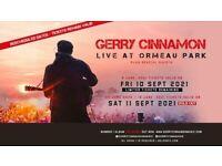 Gerry Cinnamon at Ormeau Park - Saturday night