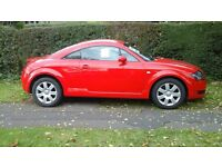 Audi TT coupe. Red. 2006. Mot May 2017. Very good condition.