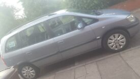 Vauxhall zafria, silver
