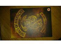 Sons of anarchy dvd box set seasons 1&2