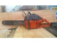 husquvarna 61 chain saw ***61cc engine ***very powerful and ready for work!!