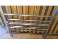 Single metal bed frame. Free local delivery.