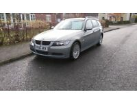 BMW 320i touring 2006 mot July 2018 metalic blue manual
