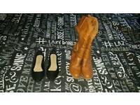Boots & Flat shoes