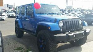 2014 Jeep WRANGLER UNLIMITED Unlimited WE FINANCE EVERY ONE Edmonton Edmonton Area image 4