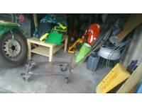 Heavy Duty Engine Trolley