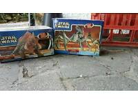 Star wars toys as new BNIB