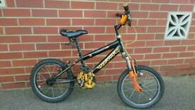 "Wolverine Concept Jnr 14"" wheels boys kids child's bike bicycle fully serviced"