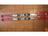 Fischer sceneo S150 carving skis and bindings