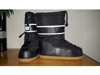 Black Campri snow boots