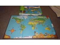 World map stuff for sale gumtree leapfrog interactive world map gumiabroncs