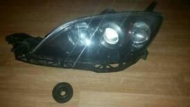 Mazda 3 Headlight Left Side