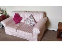 IKEA Ektorp Two Seater Sofa with Covers EX CON covers come off if you need to wash them.