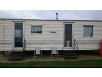 2 bedroom, 5 berth caravan to rent