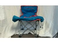 Kool Kids folding toddler chair Blue