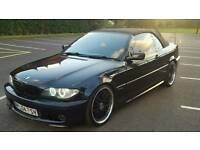 *** 04 bmw 318i m sport convertible real headturner fsh swap px welcome ***