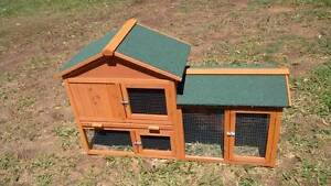 The Ranch. chicken cage duckling guinea pig cage hutch NEW North Lakes Pine Rivers Area Preview