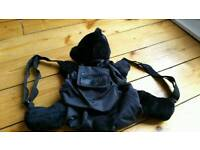 Cute Black Bear / Teddy Kids Rucksack
