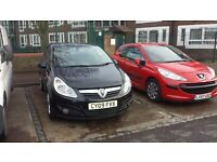 vauxhall corsa 1.4 2009 low mileage 62000miles reasonable offers