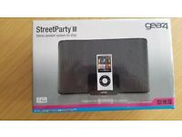 GEAR 4 streetparty 3 speaker with ipod
