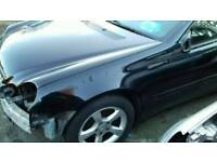 Mercedes w203 coupe wing